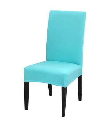 Jednobarevné potahy na židle bavlna & spandex Barvy: světle modrá