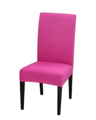 Jednobarevné potahy na židle bavlna & spandex Barvy: Růžová