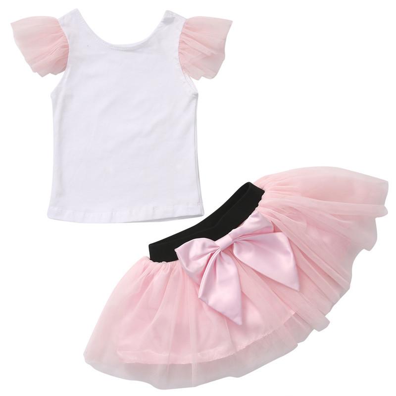 Set trička a tylové sukně pro mámu a dceru Varianty: dcera 2T