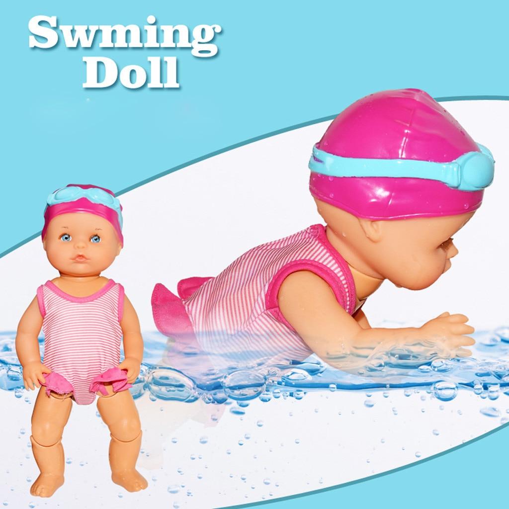 Voděodolná panenka na plavání Swimming Doll