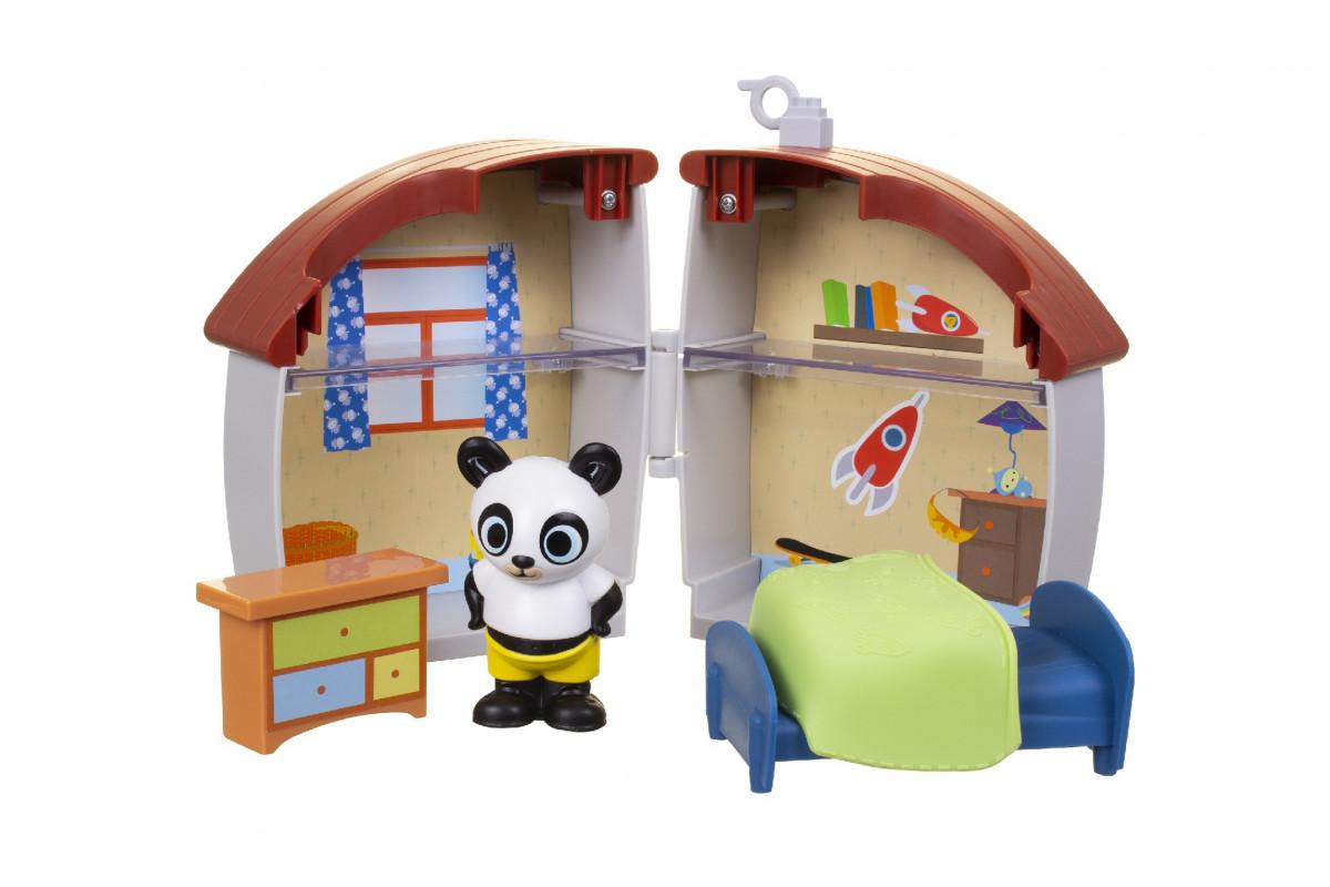 Dětská hrací sada Bing s domečkem Varianta: Domeček Pandy