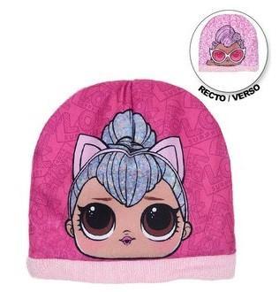 Dívčí čepice LOL Surprise Barvy: Růžová