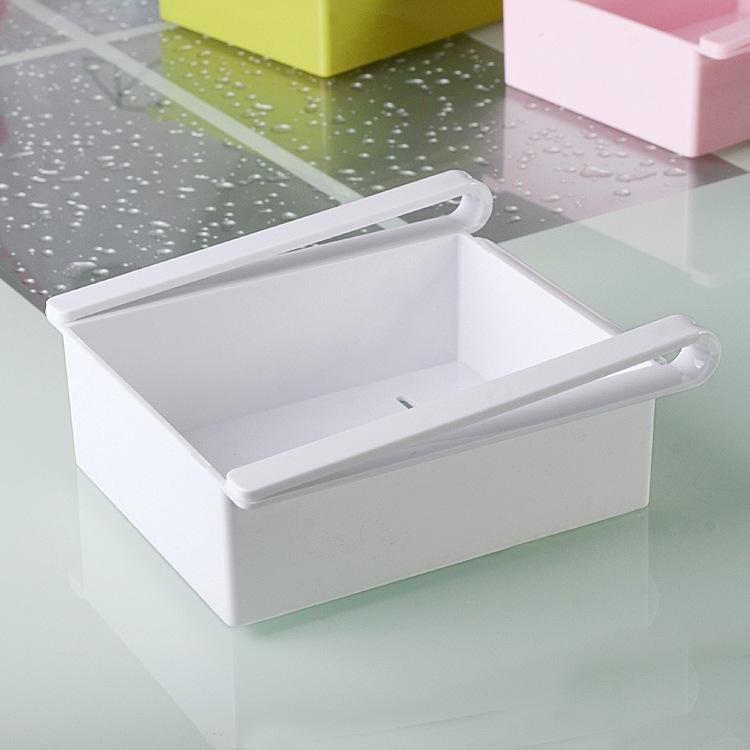 Přídavný úložný box do lednice Barva: Bílá