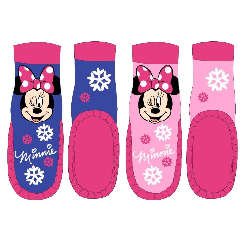 Disney Minnie dívčí ponožky s kůží Barva: Růžová, Velikost EUR: 23/24