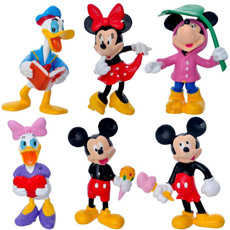 6 ks Disney postaviček