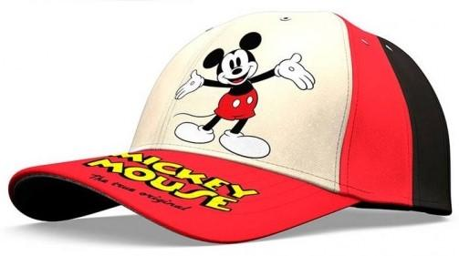 Mickey Mouse kšiltovka červený kšilt Velikost: 54