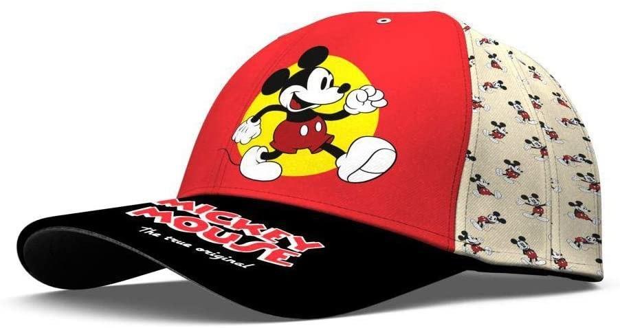 Mickey Mouse kšiltovka černý kšilt Velikost: 52