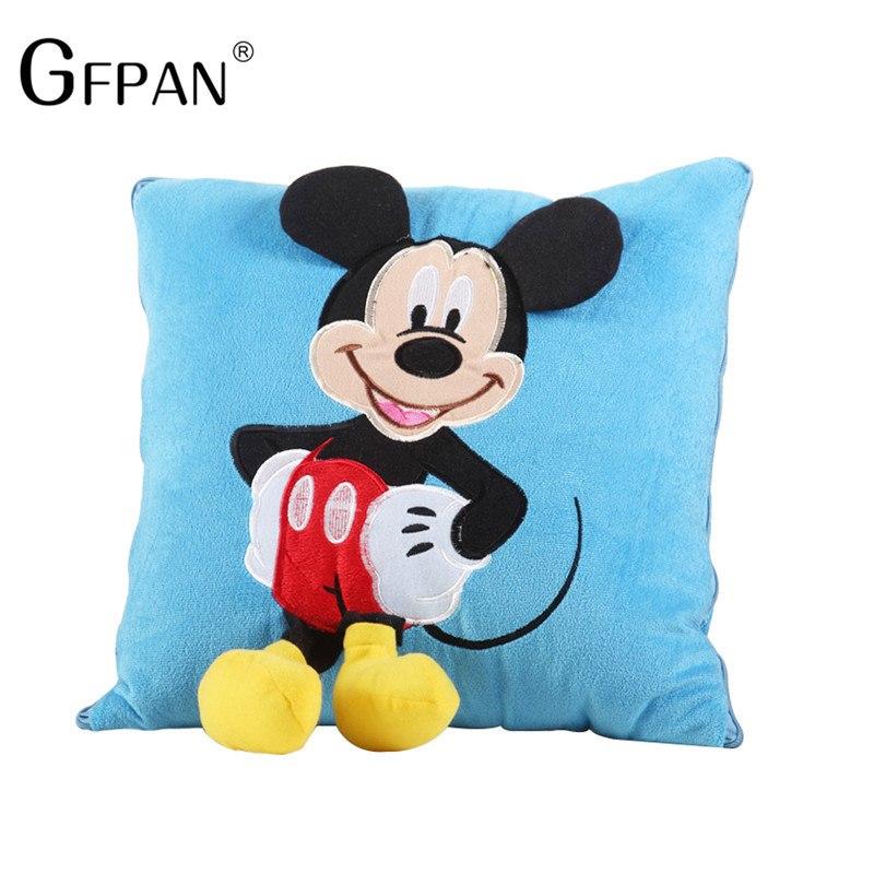 """Plyšový """"Minnie & Mickey"""" polštář Motiv: Mickey"""