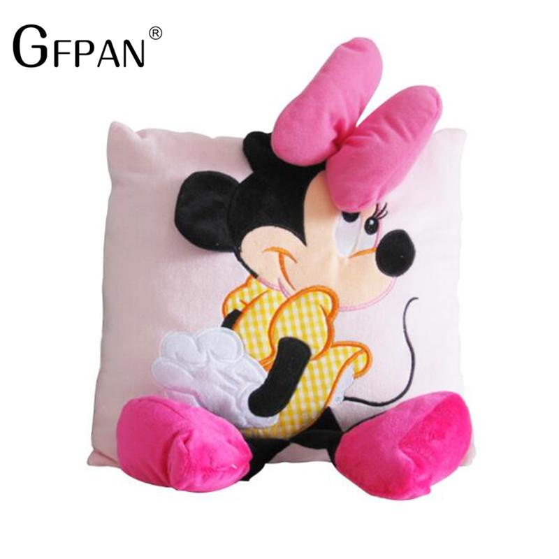 """Plyšový """"Minnie & Mickey"""" polštář Motiv: Minnie"""