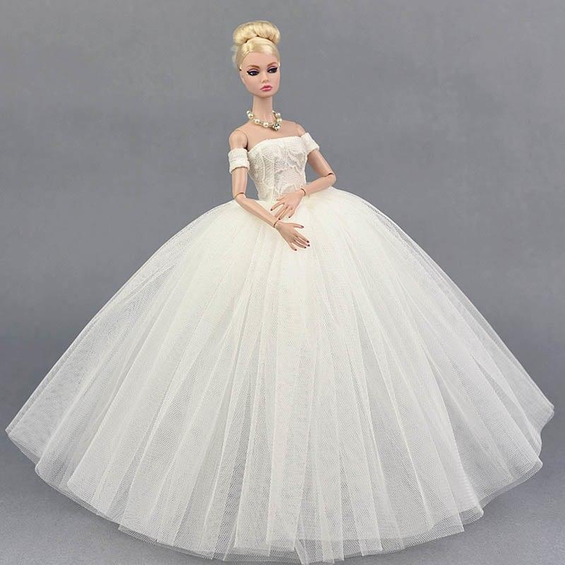 Dlouhé noblesní svatební/večerní šaty Motiv: bílé s rukávníky