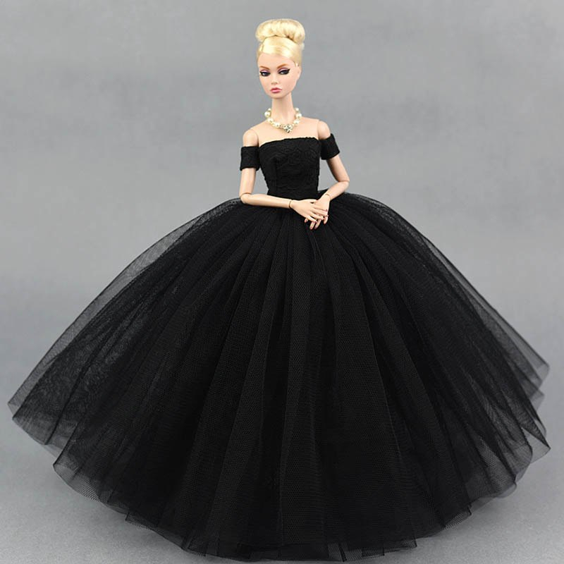 Dlouhé noblesní svatební/večerní šaty Motiv: černé s rukávníky