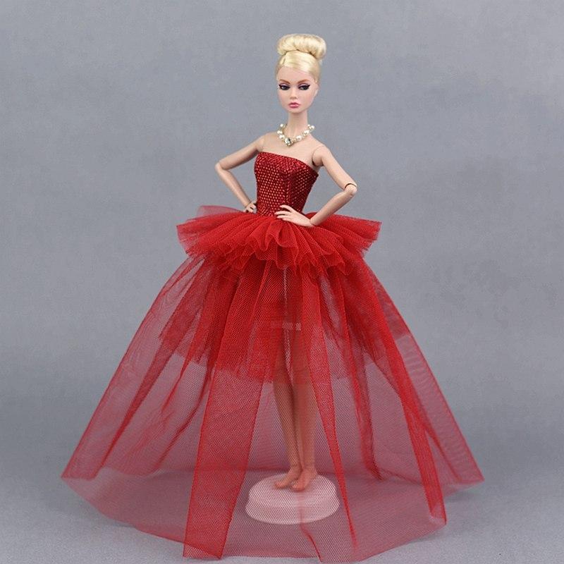 Dlouhé noblesní svatební/večerní šaty Motiv: červené krajkové