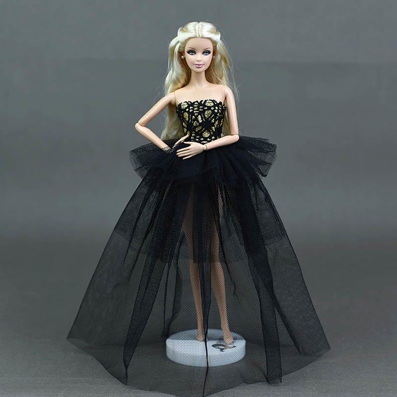 Dlouhé noblesní svatební/večerní šaty Motiv: černé krajkové
