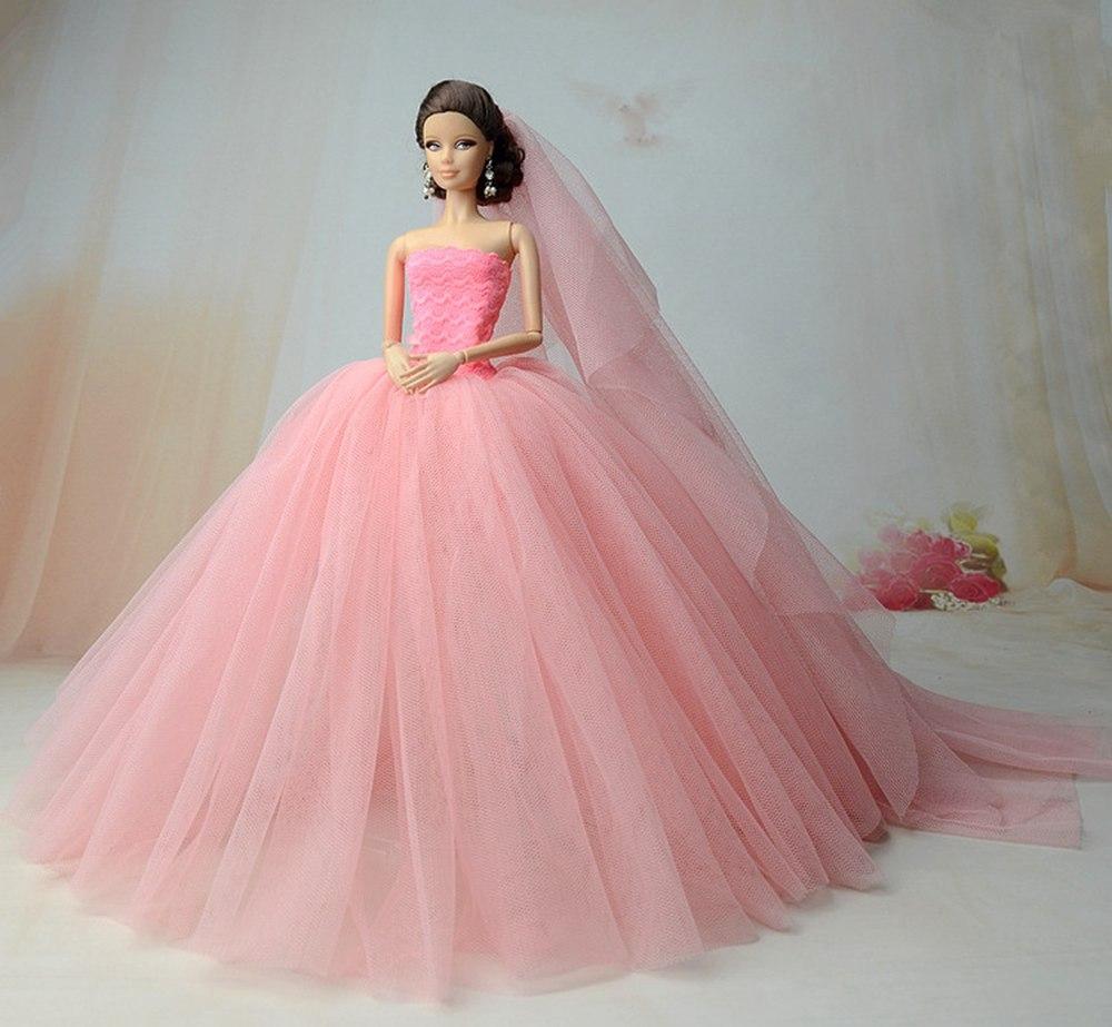 Dlouhé noblesní svatební/večerní šaty Motiv: sv.růžové šaty