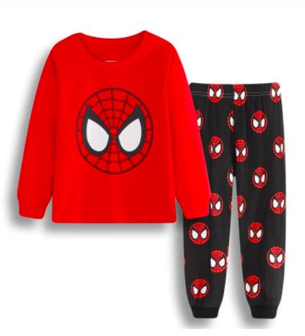 Pyžámka s pohádkovými/filmovými hrdiny Varianta: Spiderman maska, černá, Věk: 2T