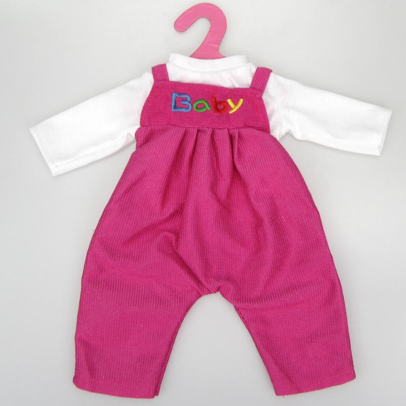 9cfc5e8191 Lacláče pro American girl a Baby Born 43-45 cm Barvy  Růžová