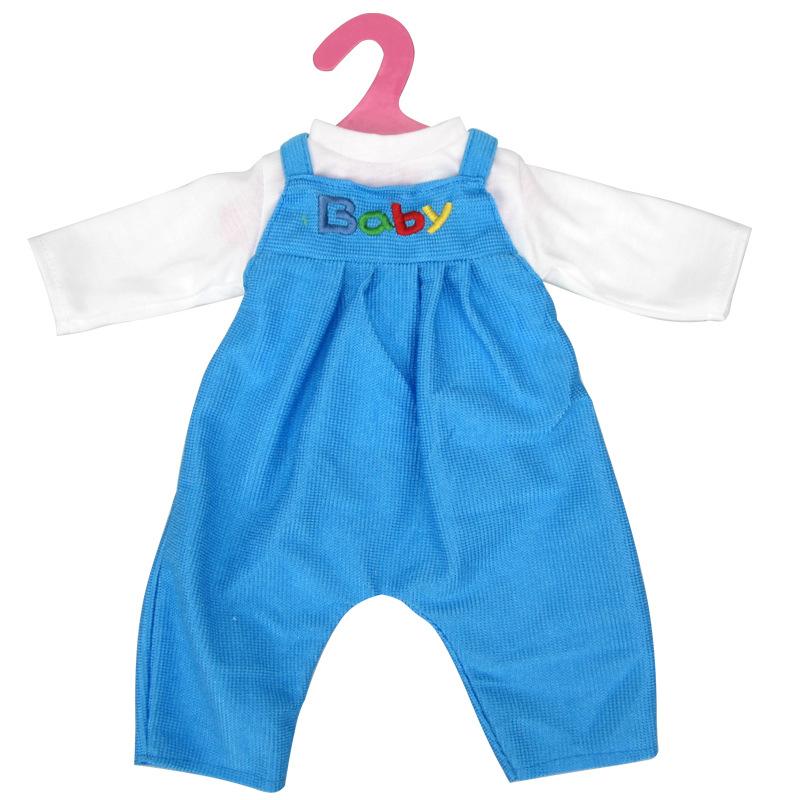 c9a67921a1 Lacláče pro American girl a Baby Born 43-45 cm Barvy  Modrá