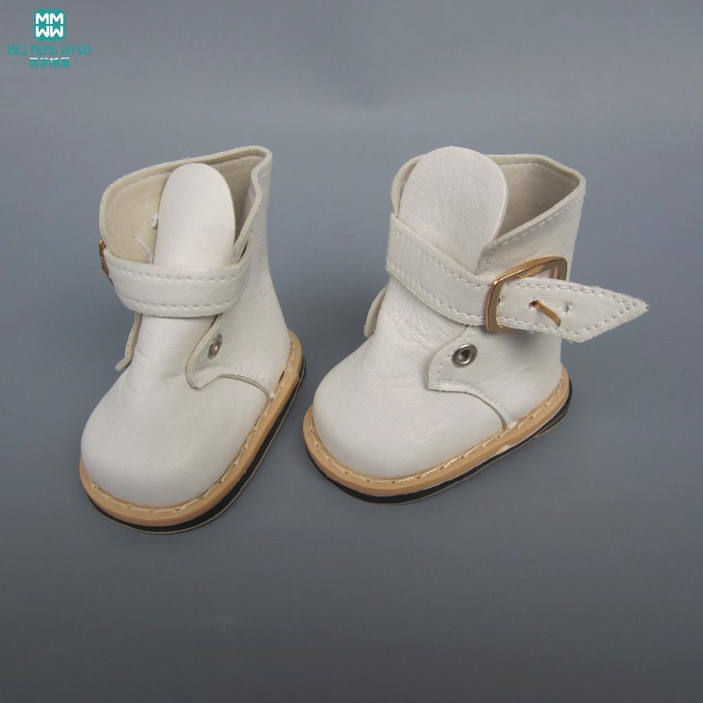 20c58ea100 Příslušenství pro American girl a Baby Born 43-45 cm Motiv  3 bílé botky