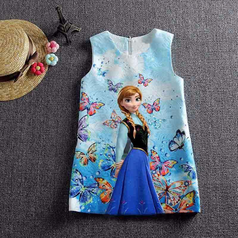 d5965168ea30 Letní šaty z pohádky Frozen