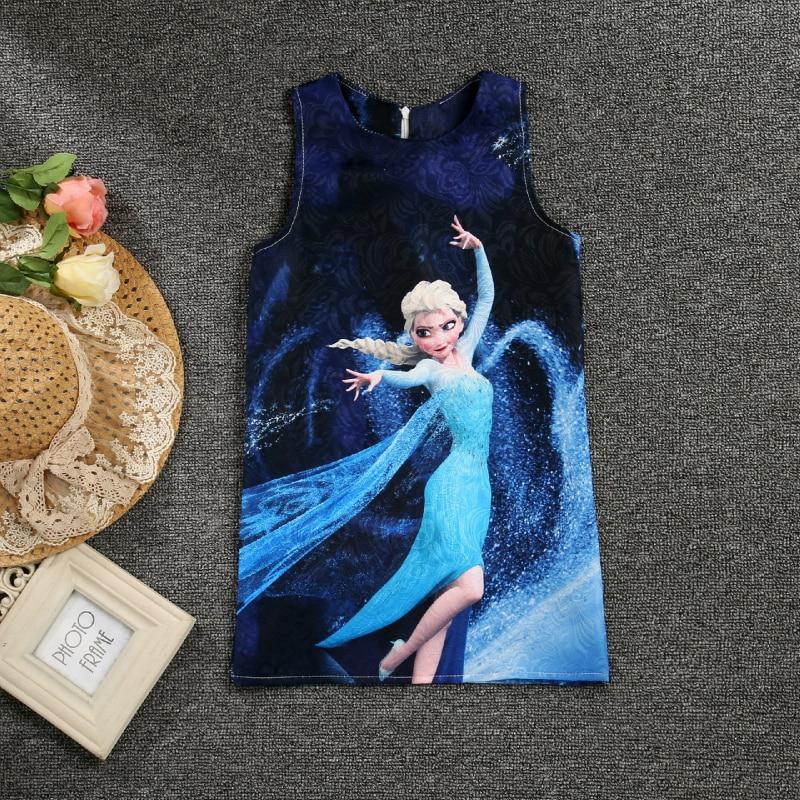650546523412 Letní šaty z pohádky Frozen