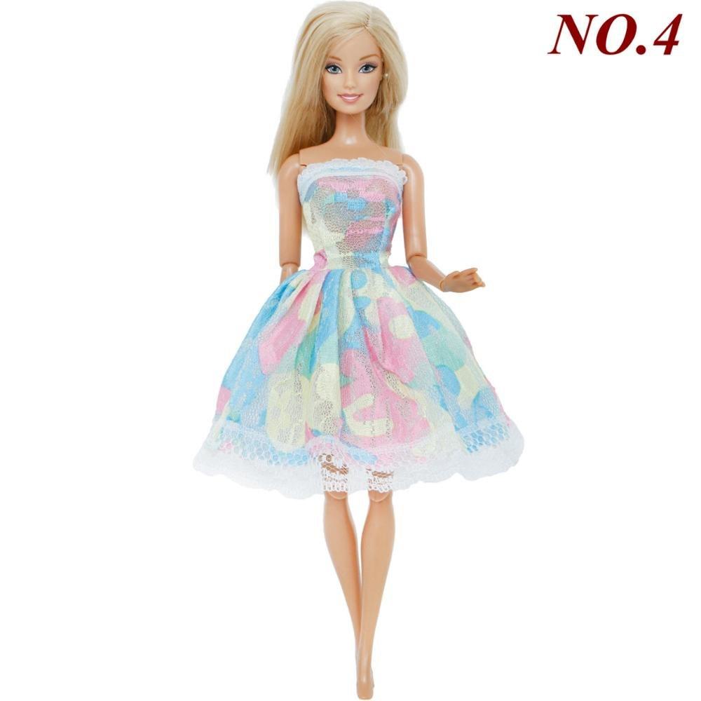 280725dc9c60 Ručně šité šaty pro Barbie Motiv  pastelové trio