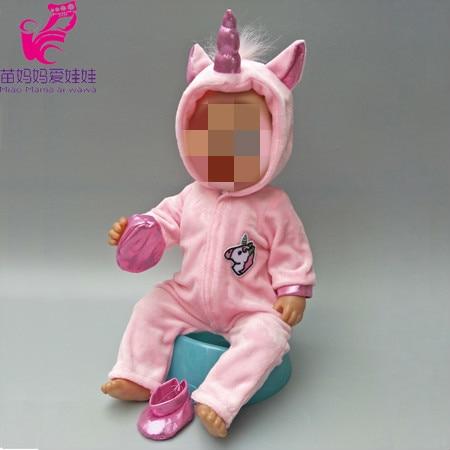 b246164eb2 Zvířecí overaly pro American girl a Baby Born 43-45 cm Druhy  jednorožec  růžový