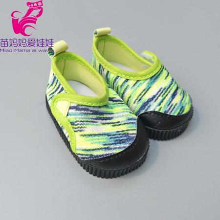 798b7a5412 Pogumované boty pro American girl a Baby Born 43-45 cm Barvy  Zelená