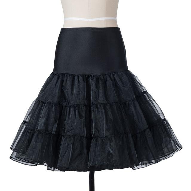 Spodnička (krinolína) tylová pod šaty i sukně Barva: Černá, Míry: S