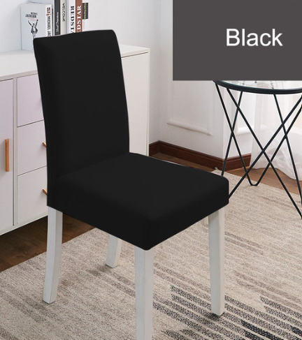 Jednobarevné potahy na židle Barva: Černá