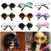 Doll Cool Glasses Pet Sunglasses For BJD Blyth American Grils Toy Photo PropsRamadan Festival GiftRamadan Festival 0