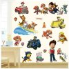 Real Cartoon For Children PAW Patrol PVC Waterproof 3D Stickers Home Decoration Background Wall Decoration of 0