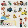 Real Cartoon For Children PAW Patrol PVC Waterproof 3D Stickers Home Decoration Background Wall Decoration of 1