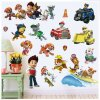 Real Cartoon For Children PAW Patrol PVC Waterproof 3D Stickers Home Decoration Background Wall Decoration of 3