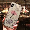 1 3D Emboss Flower Case For Samsung Galaxy A51 A50 A21s A31 A41 A30 A70 A71 S7