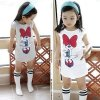 3 4 5 6 7 8 Years Kids Baby Girls Clothes Spring Summer Cute Cartoon Minnie 28