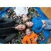 Portable Kids Toy Storage Bag and Play Mat Lego Toys Organizer Bin Box XL Fashion Practical 22