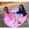 Portable Kids Toy Storage Bag and Play Mat Lego Toys Organizer Bin Box XL Fashion Practical 24
