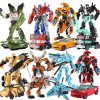 JINJIANG 19cm Height Transformation Deformation Robot Toy Action Figures Toys 43