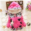 Big Size Baby Girls Jackets 2017 Autumn Winter Jacket For Girls Winter Minnie Coat Kids Clothes rose (1)