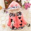 Big Size Baby Girls Jackets 2017 Autumn Winter Jacket For Girls Winter Minnie Coat Kids Clothes pink (2)