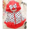 New Girls jackets fashion Minnie cartoon Clothing coat baby girl winter warm and casual Outerwear for red