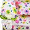 1 Pcs Mini Sofa Play Toy Flower Print Baby Toy Plush Stuffed Furniture Sofa With 2x 6