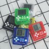 Portable Mini Tetris Game Console Keychain LCD Handheld Game Players Children Educational Electronic Toys Anti stress 2