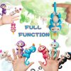 happy monkey pack Finger baby Monkey Rose Interactive Baby Pet Intelligent Toy Tip Monkey Smart Electronic 1 (1)