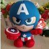 DC Marvel Plush Toys Avengers Superhero Plush Dolls Captain America Ironman Iron man Spiderman Hulk Plush captain plush
