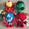 DC Marvel Plush Toys Avengers Superhero Plush Dolls Captain America Ironman Iron man Spiderman Hulk Plush 1 (1)