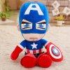 1pc 35cm Soft Stuffed Super Hero Captain America Iron Man Spiderman Plush Toys The Avengers Movie 3