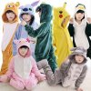 Winter Girl Boy Children s Pajamas Baby Onesize Kids Pajama Set Animal Cartoon Sleepwear Stitch Panda 1