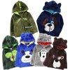 Winter 2018 Villus Thicken Keep Warm Cartoon Hoodie Dinosaur Baby Boy Sweatshirt Velvet Top Rabbit Girls 1