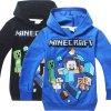 Roblox Coat Minecraft Autumn My World Cartoon Long Sleeve T shirt Boys Girls Gta 5 Coat 5